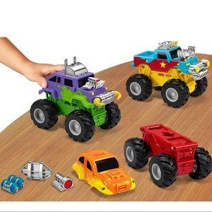 Lakeshore Learning Snap & Design Monster Trucks